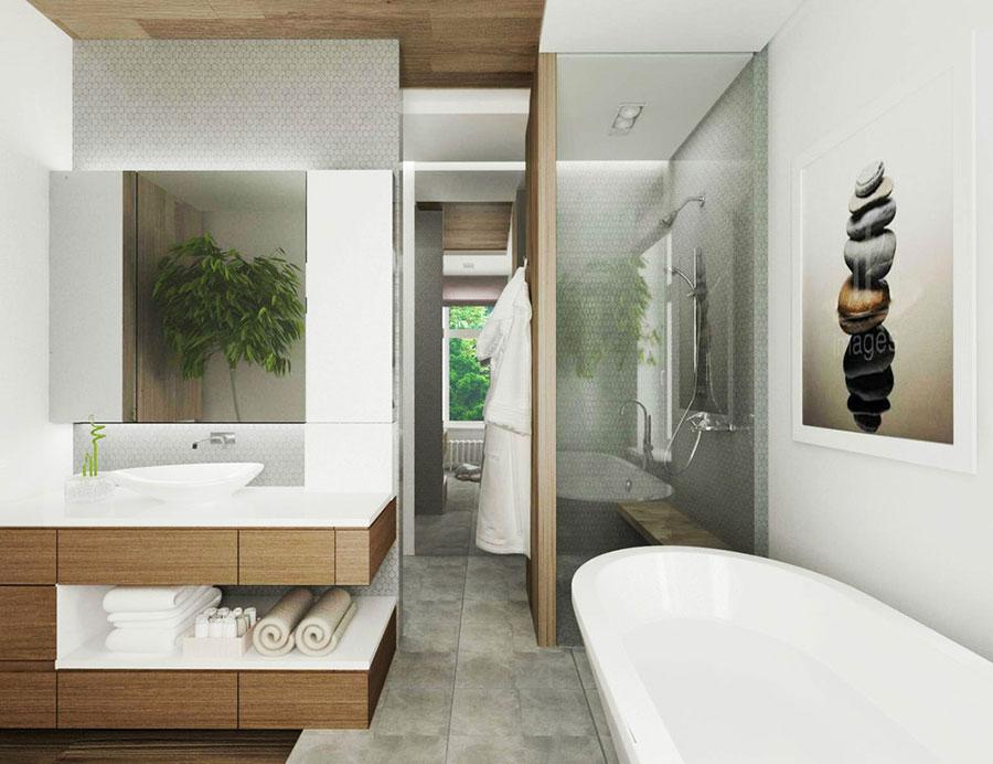 Bagno di lusso moderno dal design unico n.18