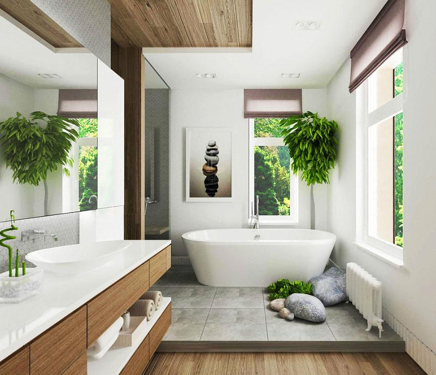 Bagno di lusso moderno dal design unico n.19