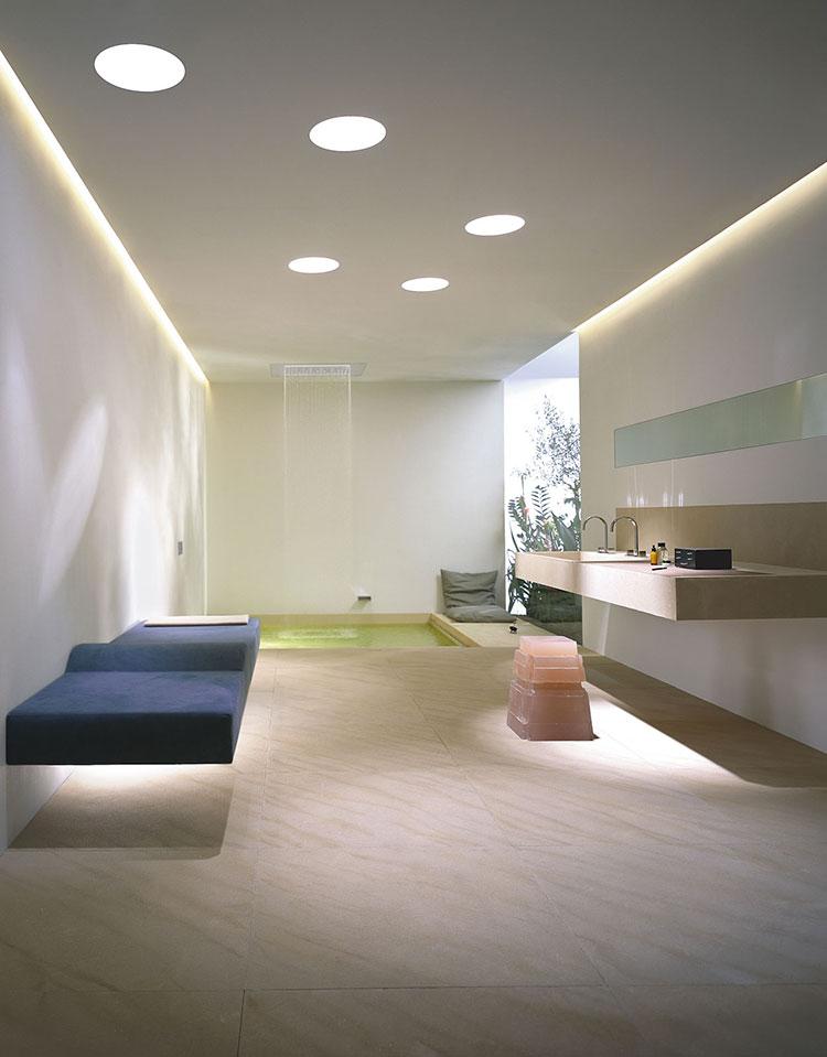 Bagno di lusso moderno dal design unico n.24
