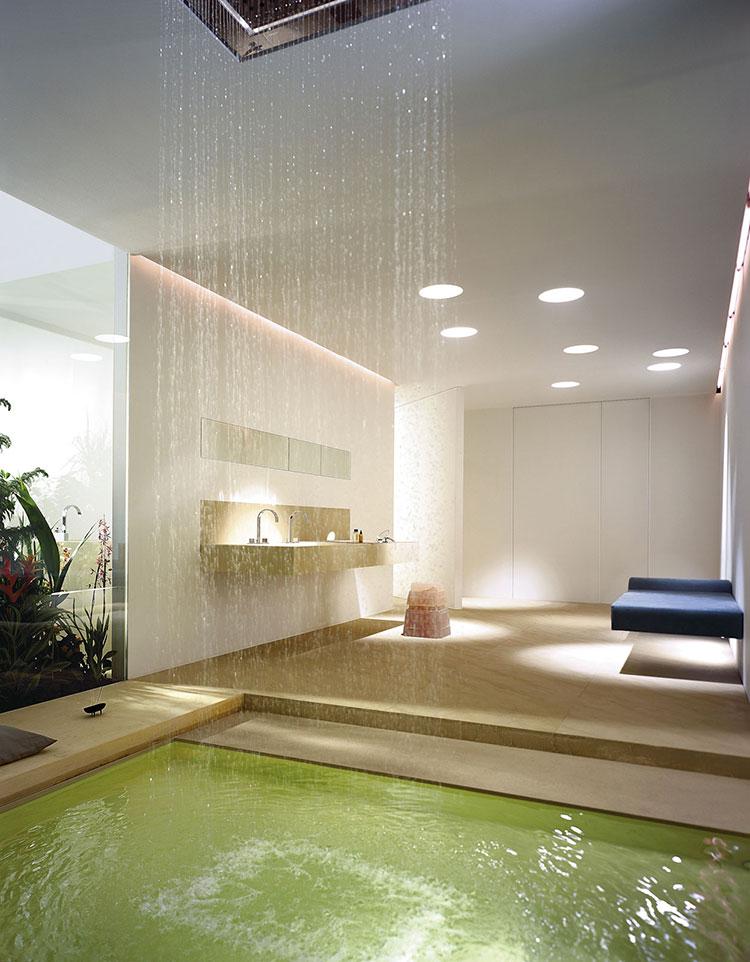 Bagno di lusso moderno dal design unico n.25