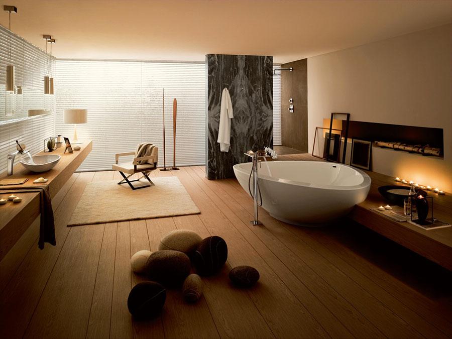 Bagno di lusso moderno dal design unico n.33