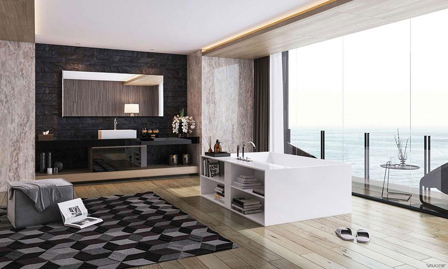 Bagno di lusso moderno dal design unico n.35