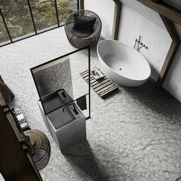 Bagno di lusso moderno dal design unico n.41