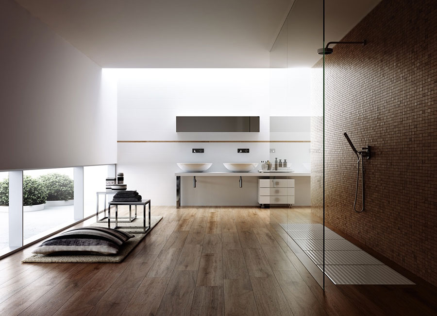Bagno di lusso moderno dal design unico n.45