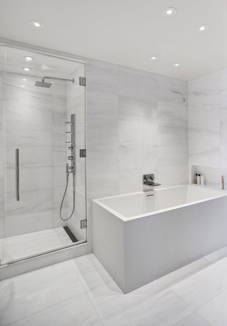 24 Best Images About Bulkhead Ceilings On Pinterest: Bagno Bianco: 20 Idee Di Arredamento Moderno Ed Elegante