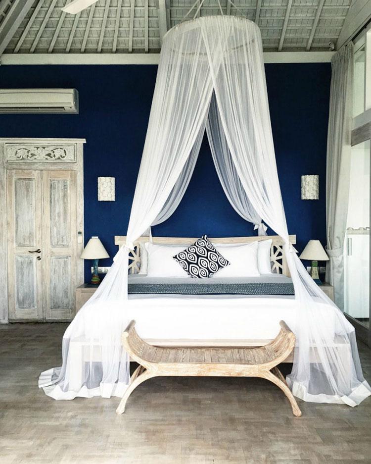 Baldacchino fai da te 20 idee per un letto romantic chic - Letto con cassetti fai da te ...