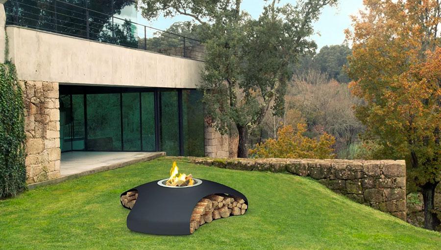 Bracieri da giardino di design ecco 20 modelli pratici ed - Bracieri per esterno ...