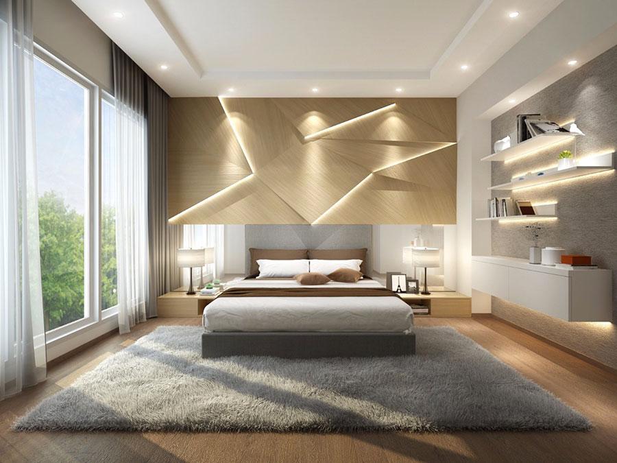 Idee per arredare una camera da letto beige n.02