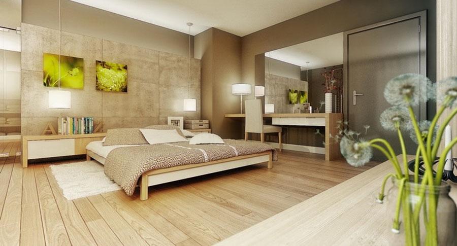 Idee per arredare una camera da letto beige n.10