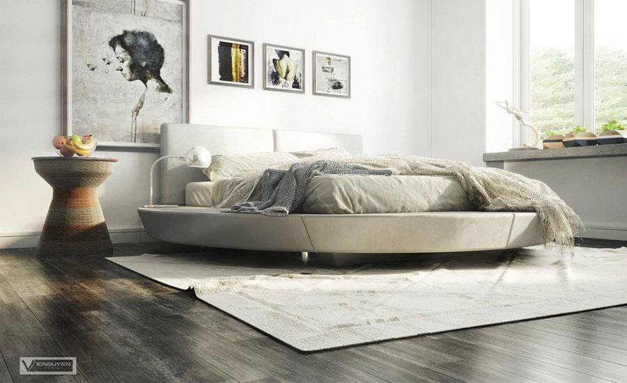 Idee per arredare una camera da letto beige n.11