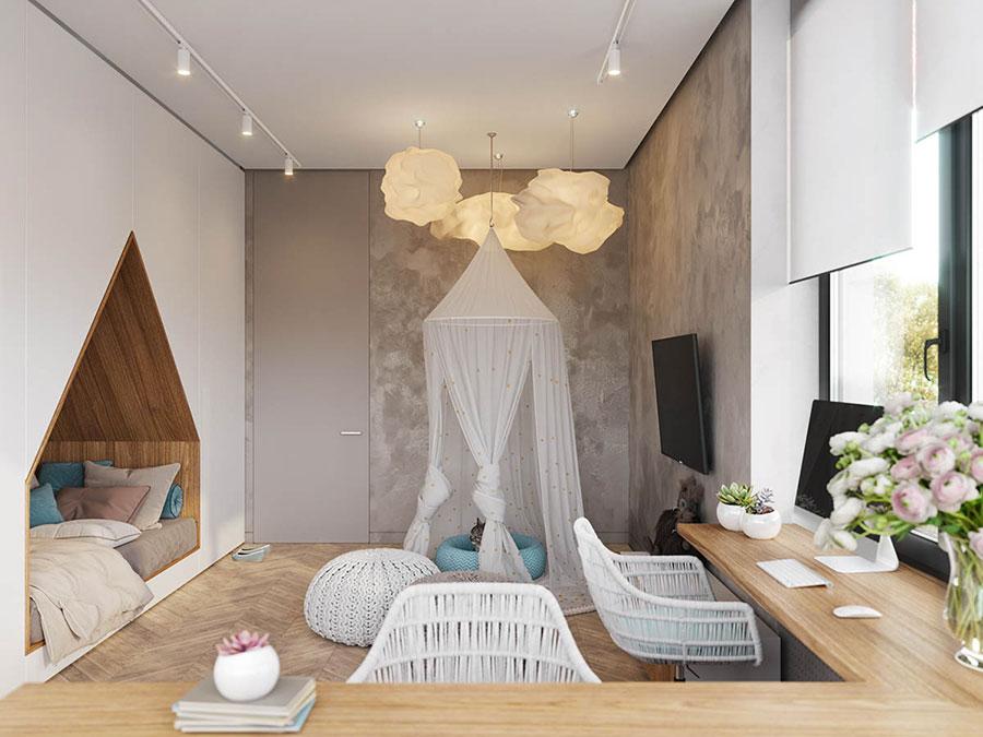 Camere Da Letto Per Ragazze Da Sogno : Camerette da sogno per ragazze dal design moderno e frizzante
