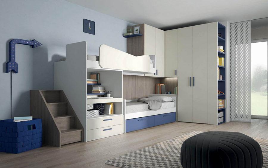 30 modelli di camerette salvaspazio per bambini e ragazzi - Idee soppalco camera da letto ...