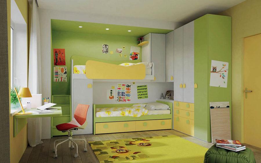 30 modelli di camerette salvaspazio per bambini e ragazzi - Camere da letto bimbi ...