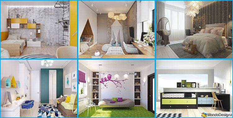 Camere Da Letto Per Ragazze Da Sogno : Camerette da sogno per ragazze dal design moderno e