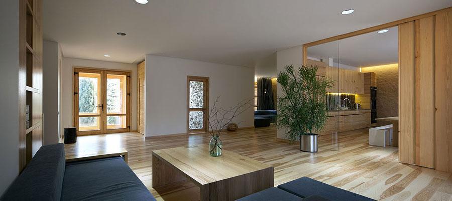 Idee per arredare una casa da sogno con interni in legno dal design moderno n.04