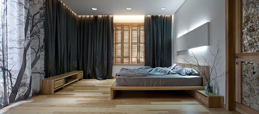 Idee per arredare una casa da sogno con interni in legno dal design moderno n.09