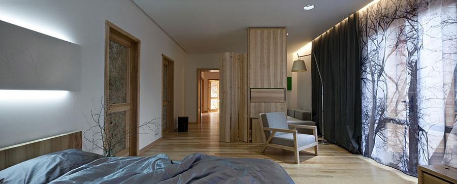 Idee per arredare una casa da sogno con interni in legno dal design moderno n.10