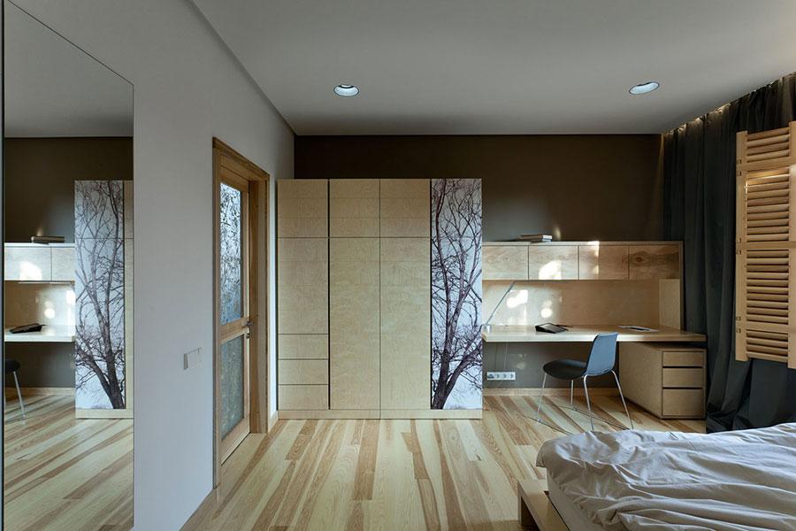 Idee per arredare una casa da sogno con interni in legno dal design moderno n.12