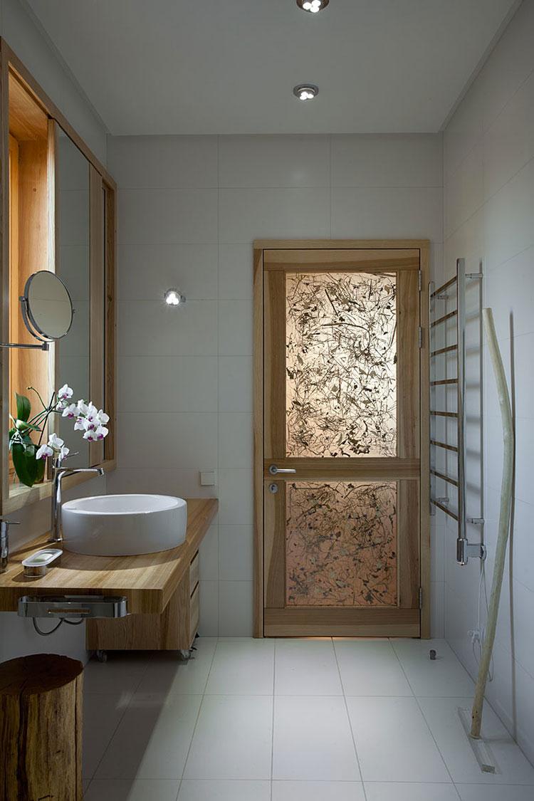 Idee per arredare una casa da sogno con interni in legno dal design moderno n.13