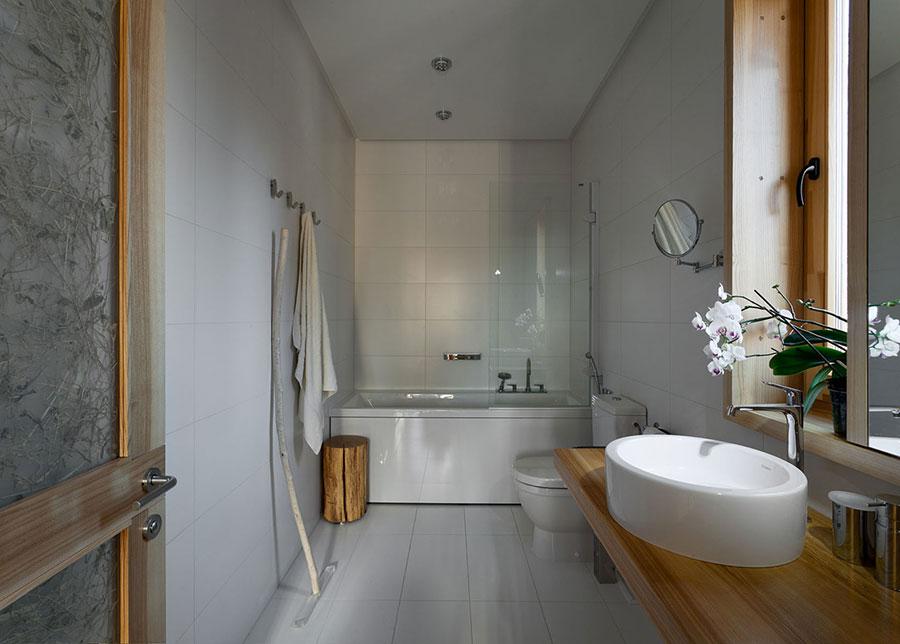 Idee per arredare una casa da sogno con interni in legno dal design moderno n.14