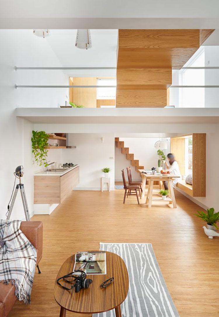 Idee per arredare una casa da sogno con interni in legno dal design moderno n.15
