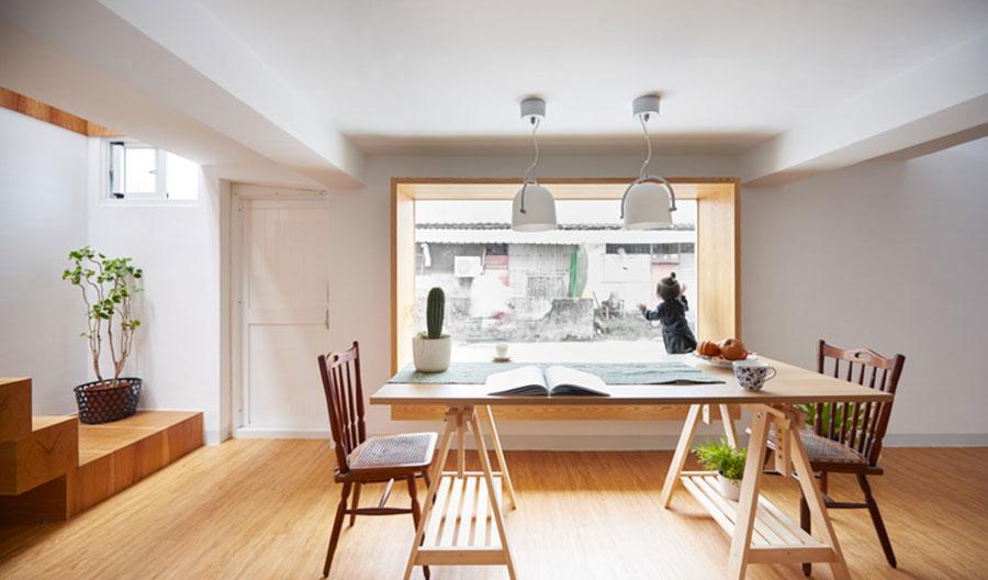 Idee per arredare una casa da sogno con interni in legno dal design moderno n.16