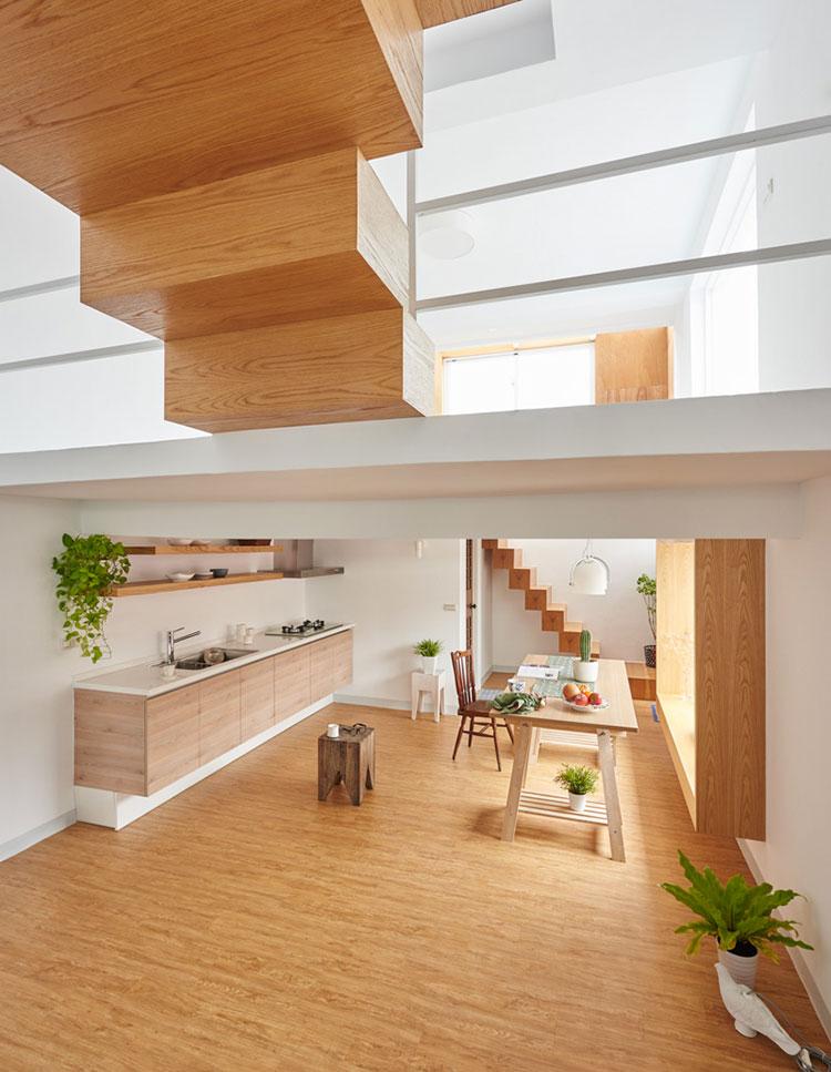 Idee per arredare una casa da sogno con interni in legno dal design moderno n.17