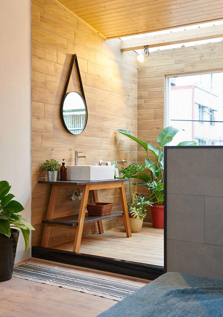 Idee per arredare una casa da sogno con interni in legno dal design moderno n.21