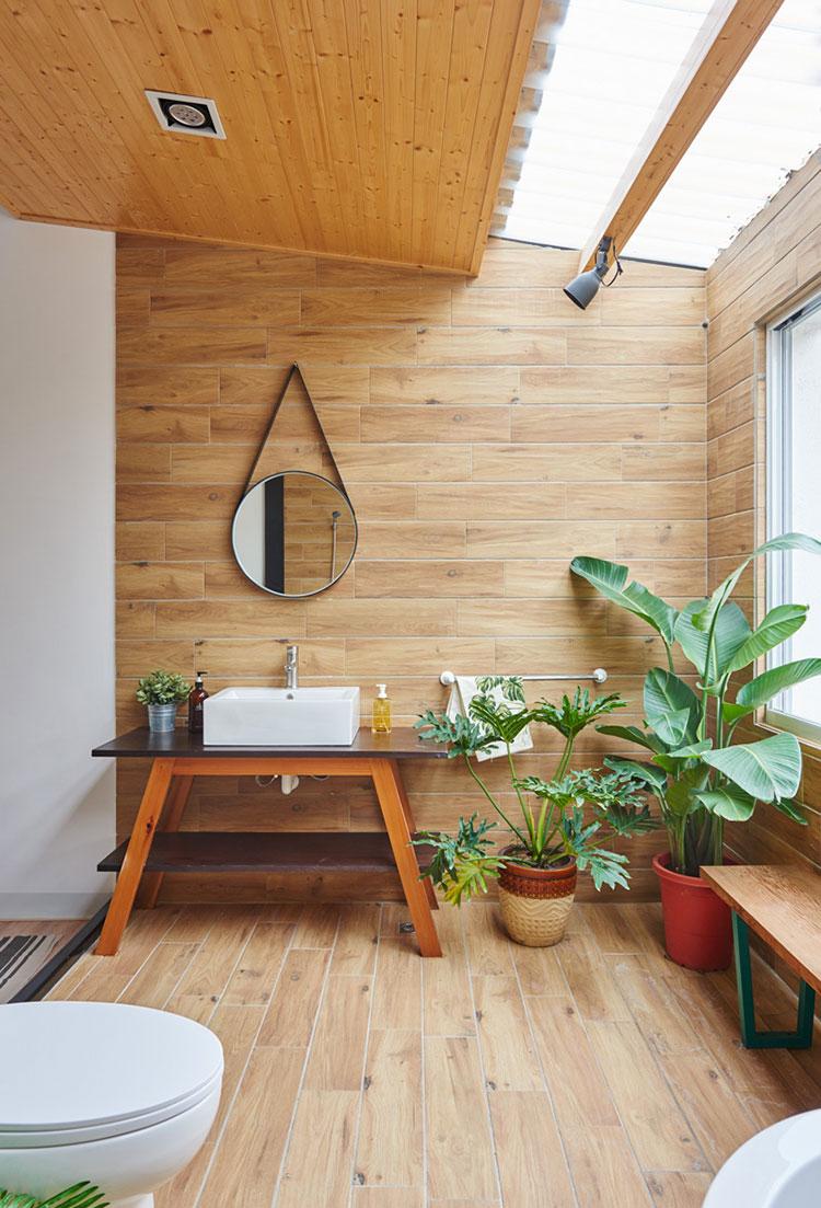 Idee per arredare una casa da sogno con interni in legno dal design moderno n.22
