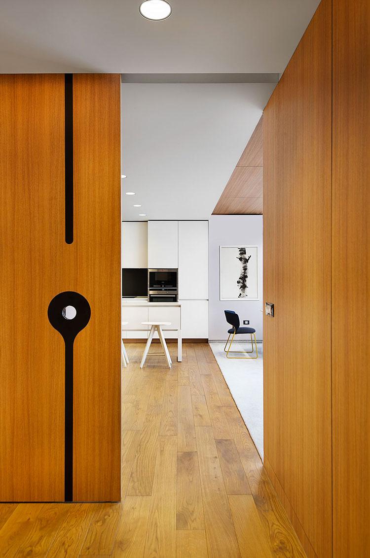 Idee per arredare una casa da sogno con interni in legno dal design moderno n.25