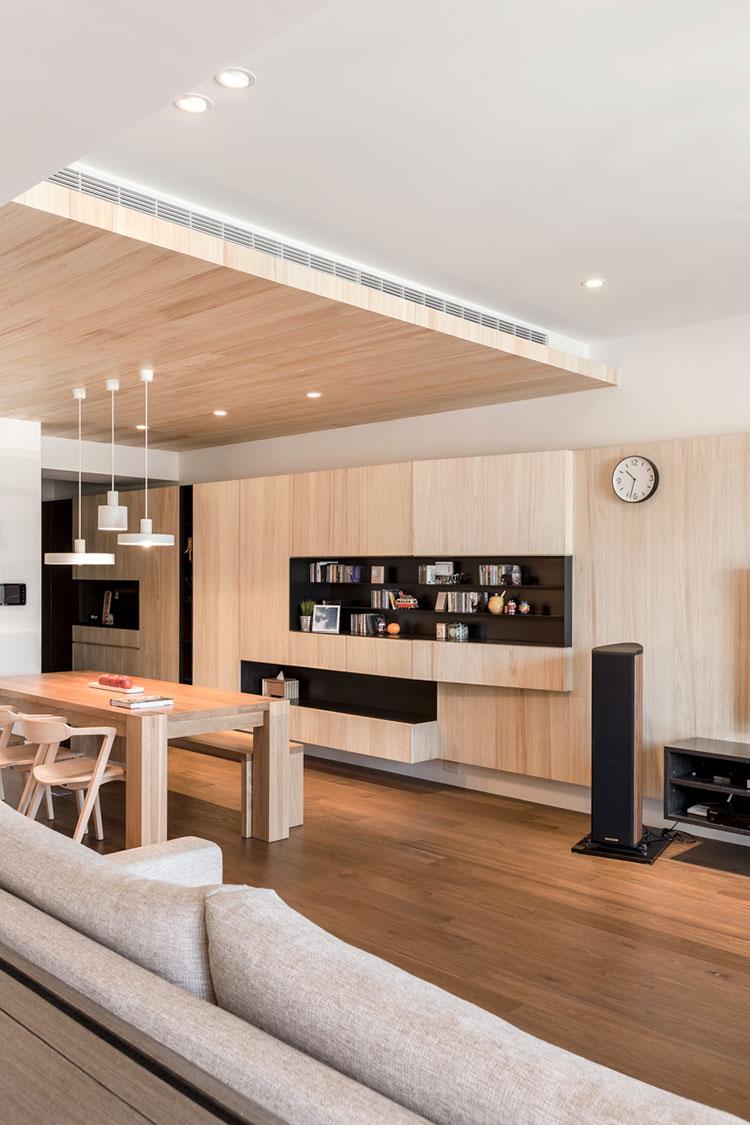 Idee per arredare una casa da sogno con interni in legno dal design moderno n.29