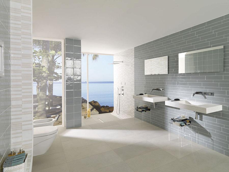 Lavabo bagno sospeso dal design moderno n.02