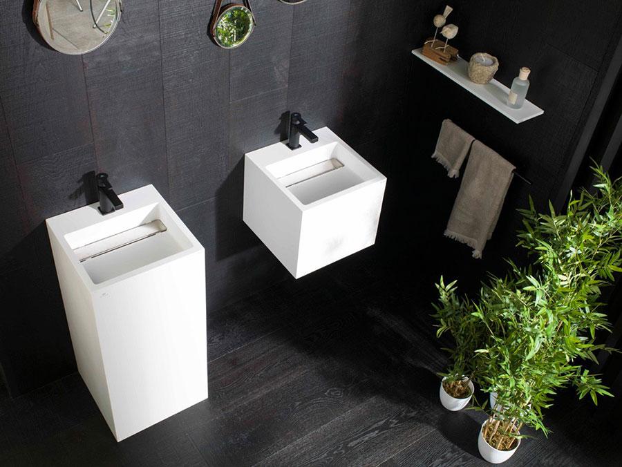 Lavabo bagno sospeso dal design moderno n.04