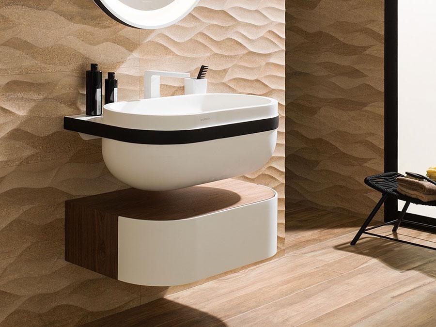 Lavabo bagno sospeso dal design moderno n.08