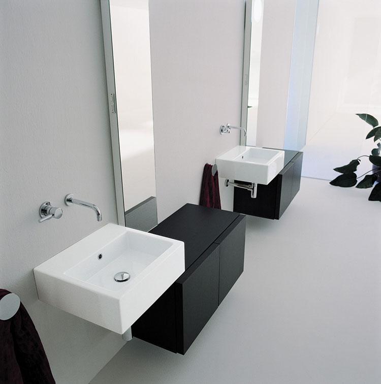 Lavabo bagno sospeso dal design moderno n.10
