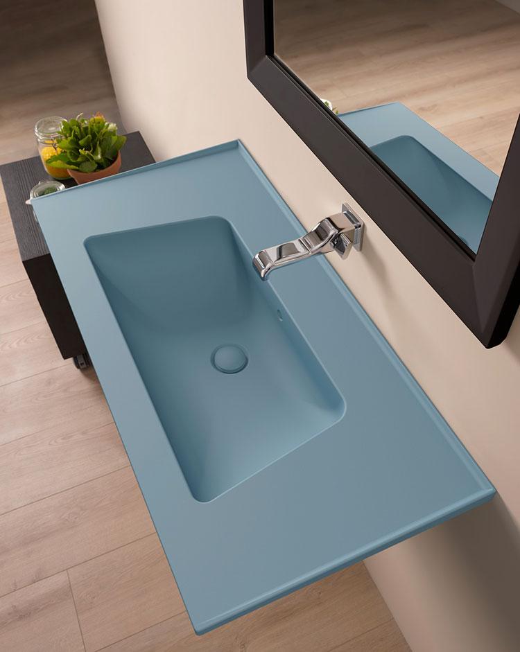 Lavabo bagno sospeso dal design moderno n.12