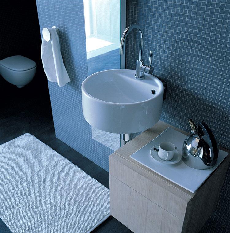 Lavabo bagno sospeso dal design moderno n.14