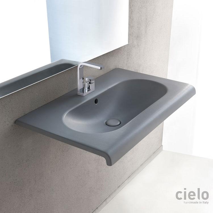 Lavabo bagno sospeso dal design moderno n.21
