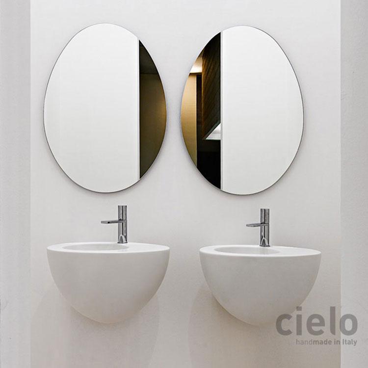 Lavabo bagno sospeso dal design moderno n.22