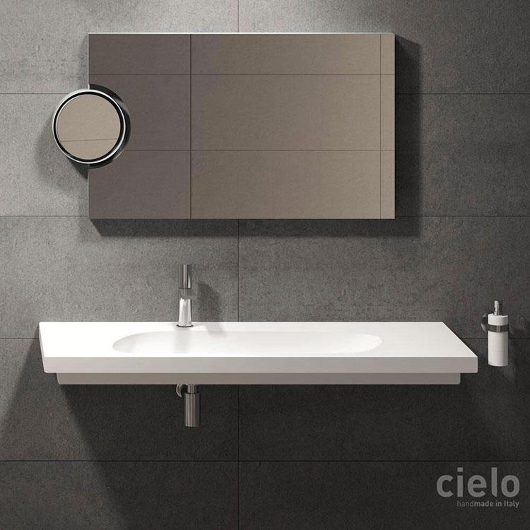 Lavabo bagno sospeso dal design moderno n.23