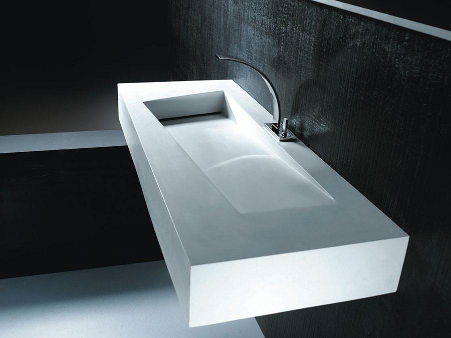 Lavabo bagno sospeso dal design moderno n.24