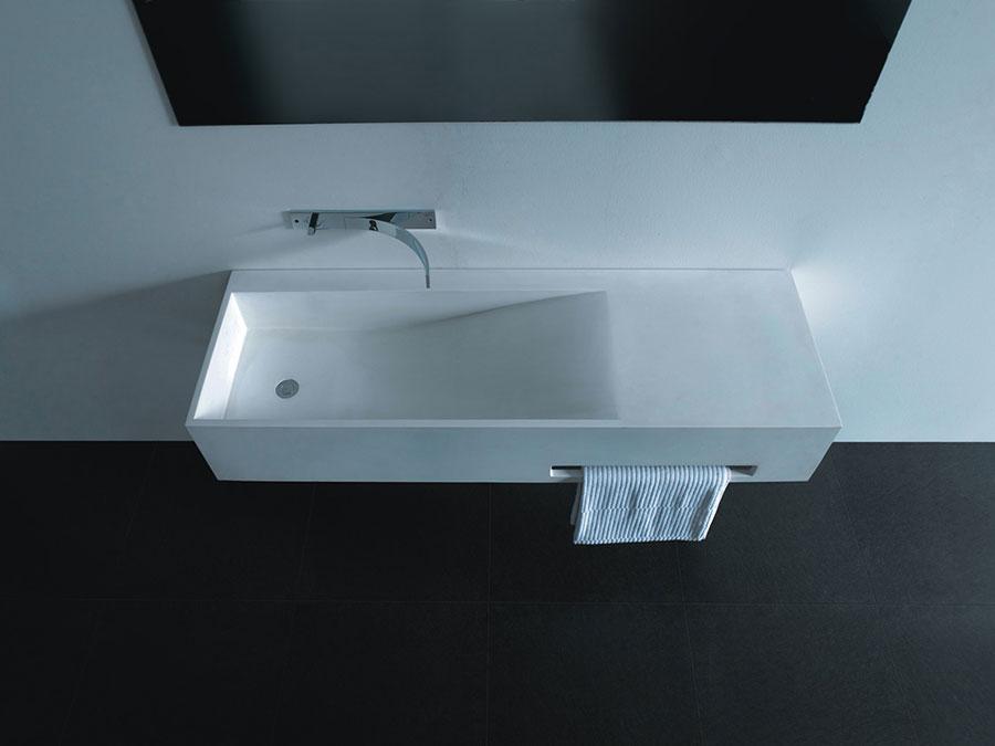 Lavabo bagno sospeso dal design moderno n.25