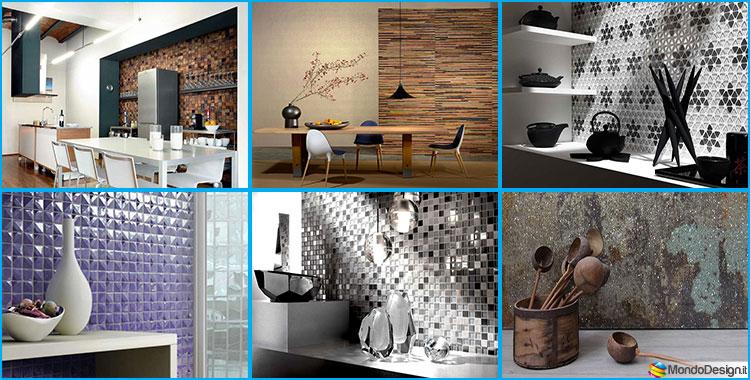 Rivestimenti per Pareti di Cucina dal Design Originale | MondoDesign.it