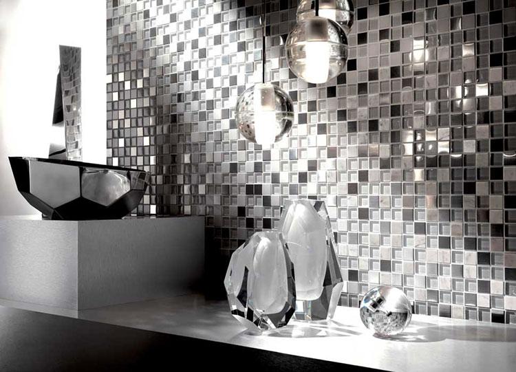 Rivestimento per parete di cucina dal design originale n.04