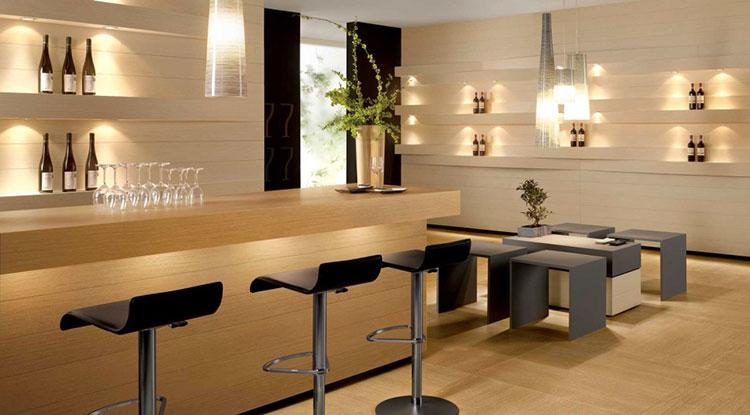 Rivestimento per parete di cucina dal design originale n.05