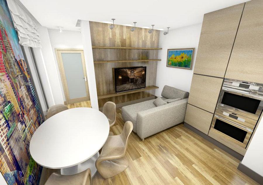 Idee per arredare una casa di 60 mq n.16