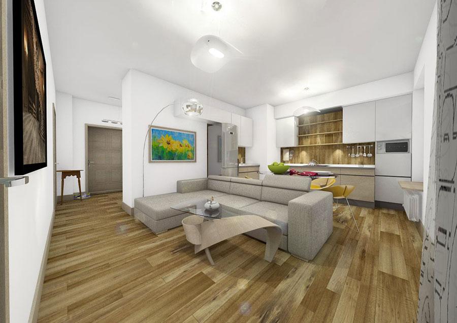 Idee per arredare una casa di 60 mq n.17
