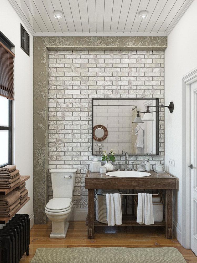 Idee per arredare un bagno vintage n.18