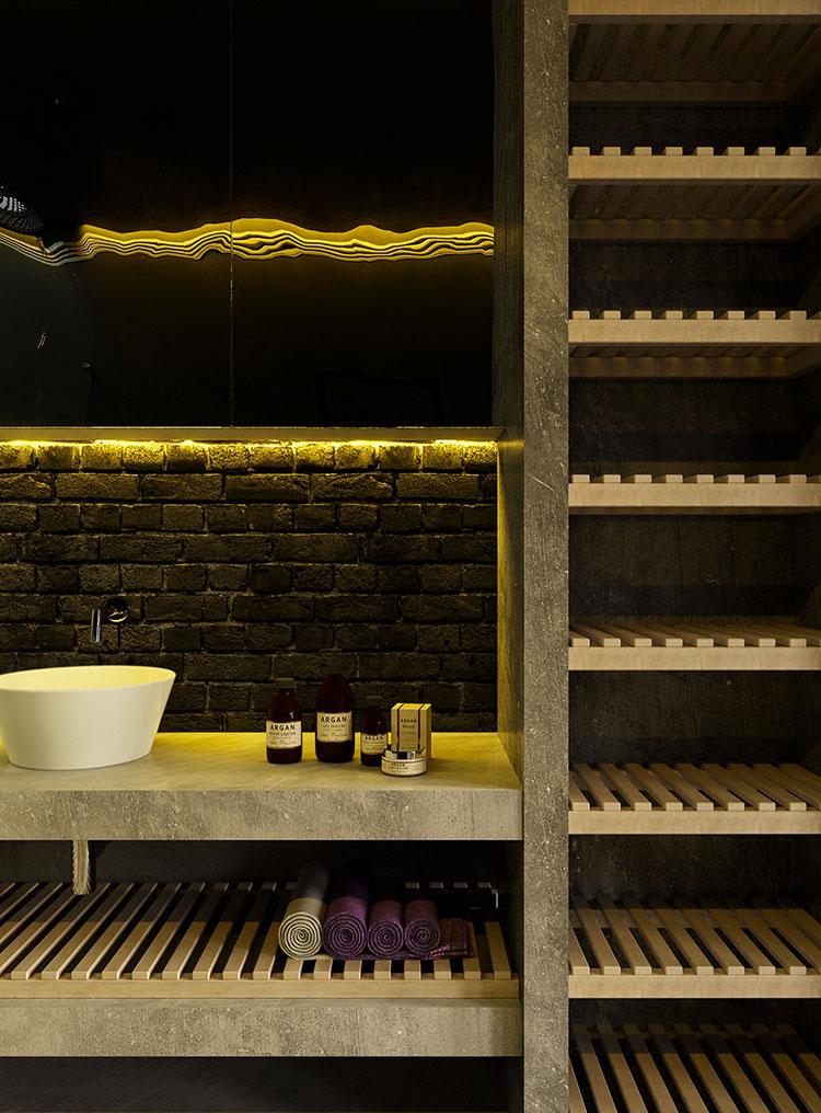 Idee di arredo per un bagno in stile industriale n.06