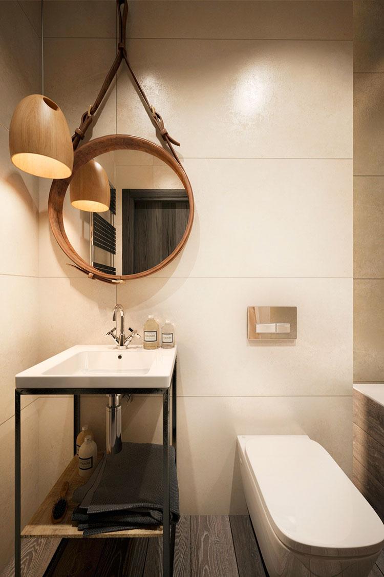 Idee di arredo per un bagno in stile industriale n.08